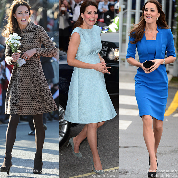Kate Middleton at The Art Room events in 2012, 2013 & 2014