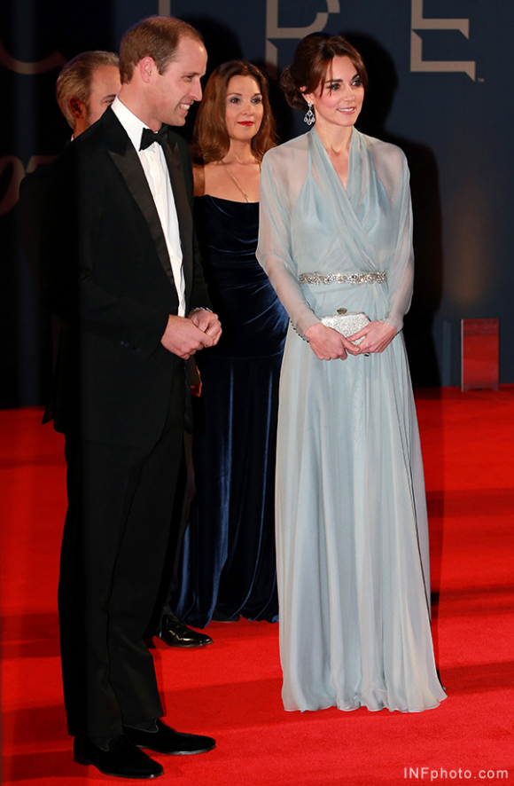 William and Kate on the red carpet for Spectre premiere