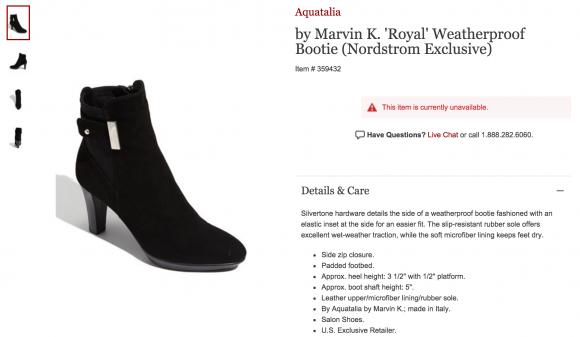 Aquatalia Royal Boots from Nordstrom