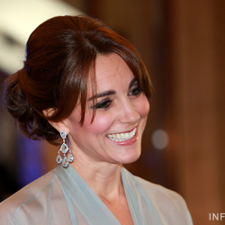 Duchess wears Jenny Packham dress for James Bond SPECTRE premiere