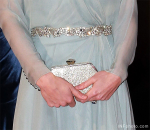 Kate Middleton carries Jenny Packham's Casa bag
