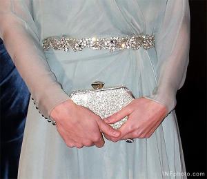 Kate Middleton carries Jenny Packham's Casa bag
