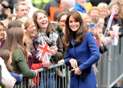 Duchess of Cambridge Kate Middleton visits Dundee