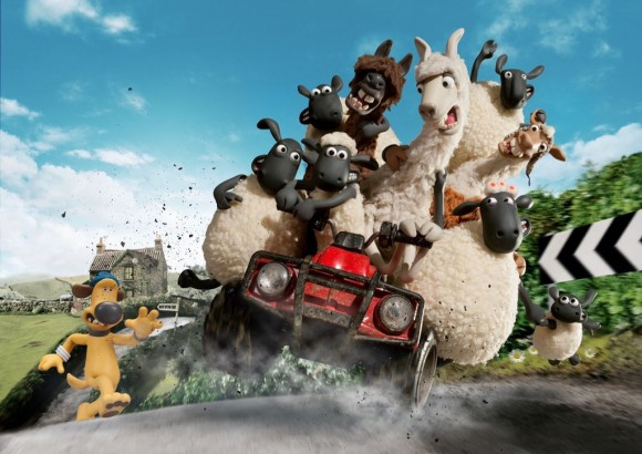 Shaun the Sheep Farmer's Llamas