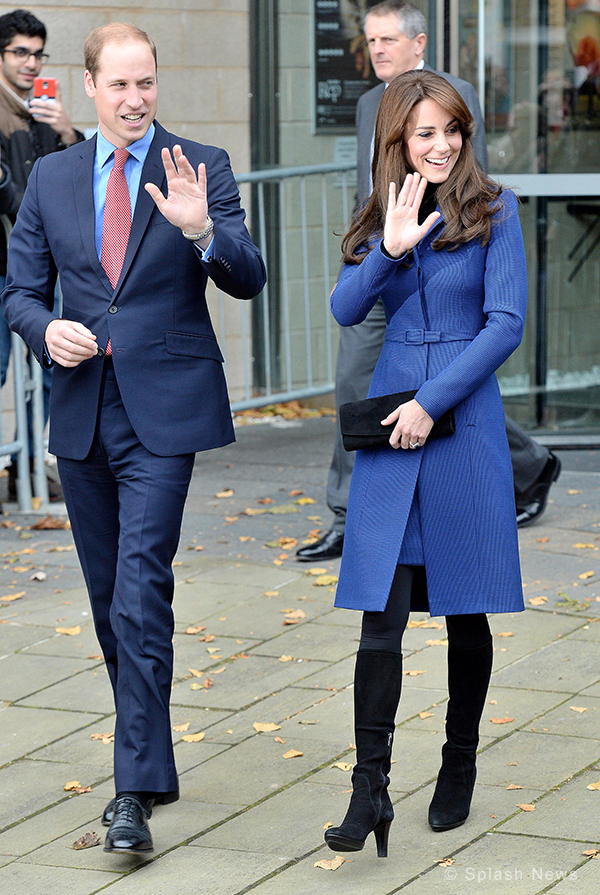 William and Kate visiting Dundee