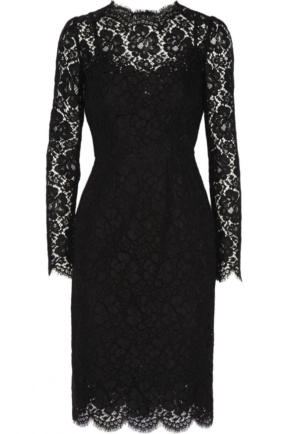 Lace Dolce and Gabbana dress