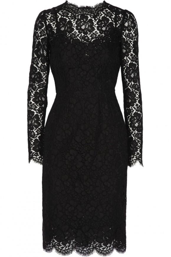 Lace Dolce and Gabbana dress