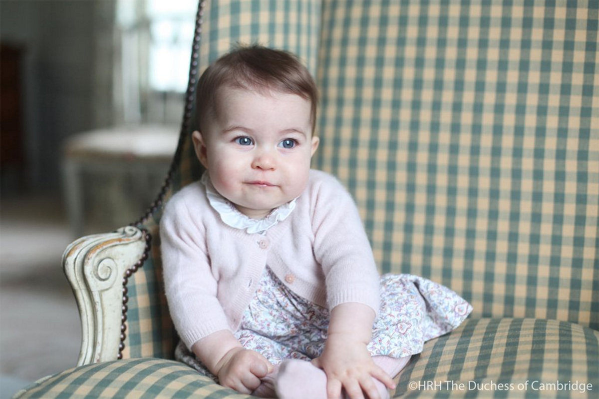 New photo of Princess Charlotte