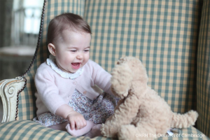 New photos of Princess Charlotte looking adorable!