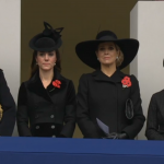 Duchess of Cambridge attends 2015 National Service of Remembrance