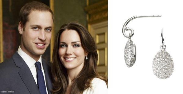 Kate Middleton's hope egg earrings