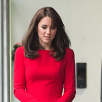 Kate attends end of term school Christmas party at the Anna Freud Centre
