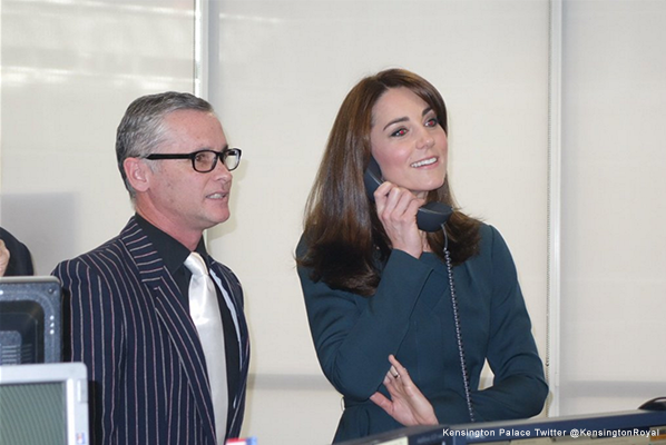 Kate Middleton at ICAP's charity fun day