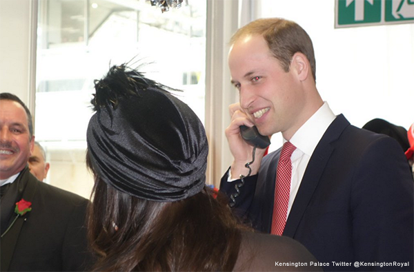 Prince William and ICAP's Charity Day