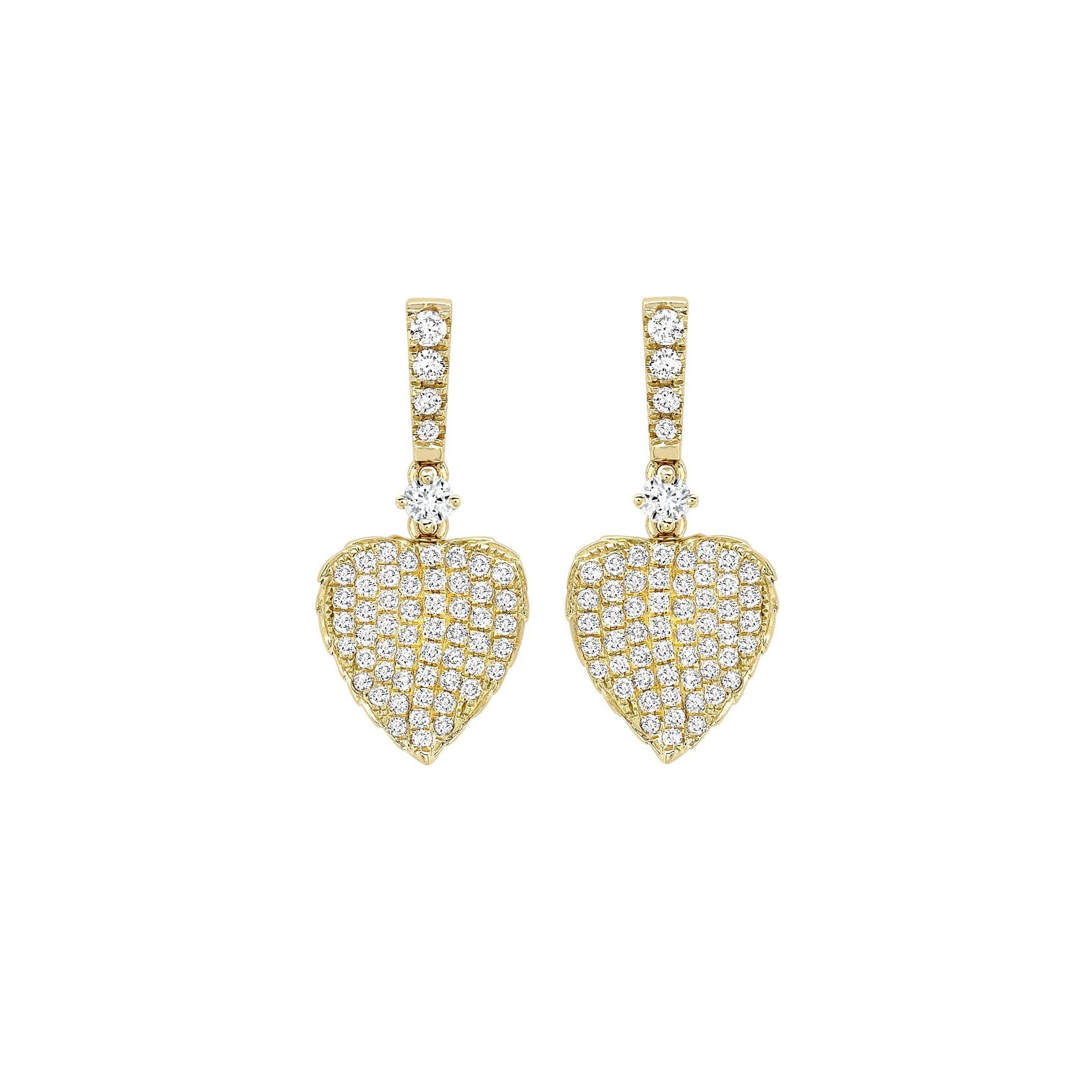 Kiki McDonough Lauren Leaf Earrings