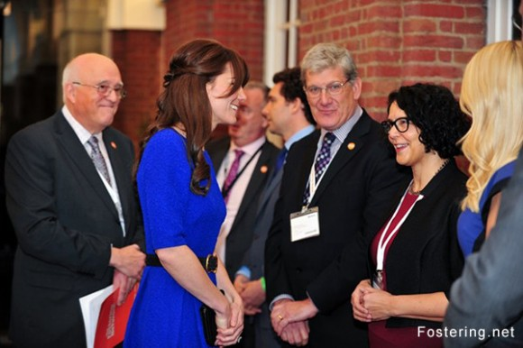 Kate Middleton at the Fostering Excellence Awards