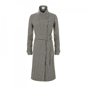 Reiss Rubik Houndstooth Coat