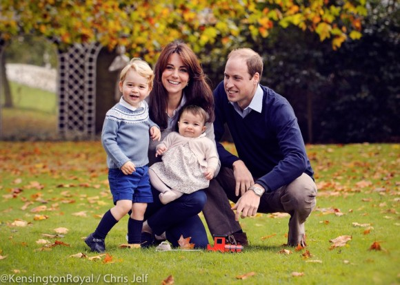 William & Kate's Christmas Photo