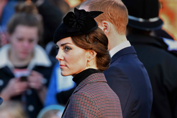 Kate attends church service to mark to 100th anniversary of the Gallipoli campaign