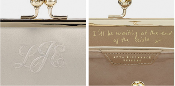 Personalise your Anya Hindmarch maud bag