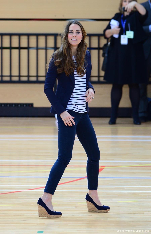38aa2452d601 Stuart Weitzman Corkswoon Wedges · Kate Middleton Style Blog