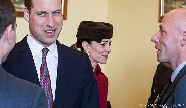 Kate repeats L.K. Bennett Ami coat for RAF disbandment event in Anglesey