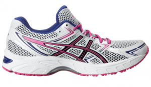 Asics Gel Equation Blue and Pink Running Shoes