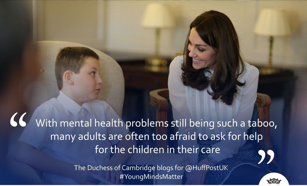 Kate Middleton working for the Huffington Post