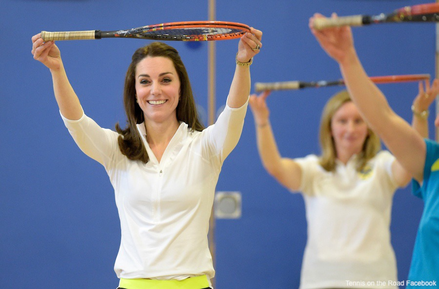 Kate Middleton sports top