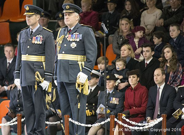 Kate and William and the RAF Disbandment ceremony