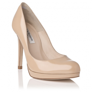 L.K. Bennett Sledge Pumps in Nude, as worn by Kate Middleton
