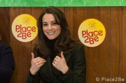 Kate Middleton joins in with assembly