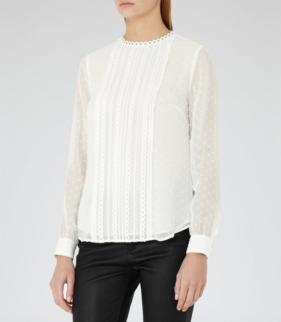 Reiss Alemanda Blouse
