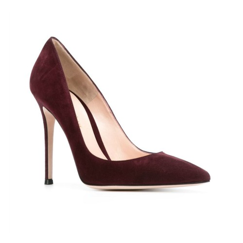 Gianvito Rossi 105 pumps in burgundy