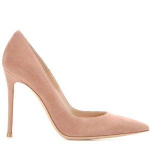 Gianvito Rossi 105 heels in Praline