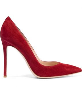 Gianvito Rossi Dark Red