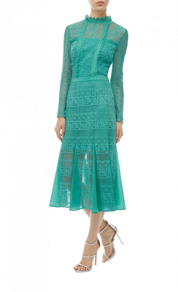 Kate Middleton Wears Tempereley London Desdemona Dress