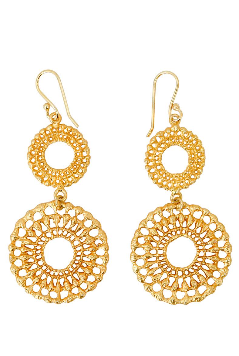 Brora-Gold-Charm-Earrings