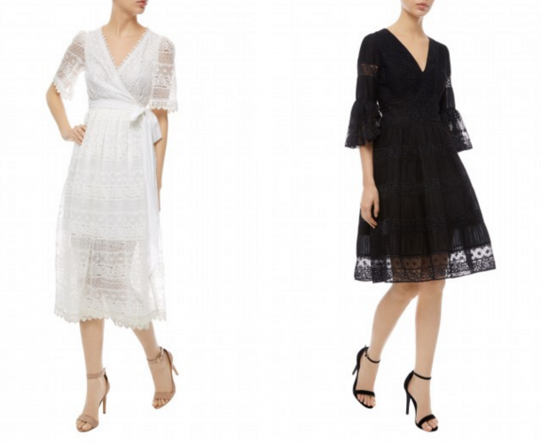 Kate Middleton's Temperley London Desdemona dress in short version