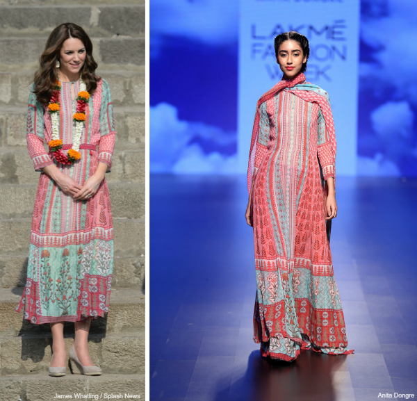 Kate Middleton Anita Dongre Dress