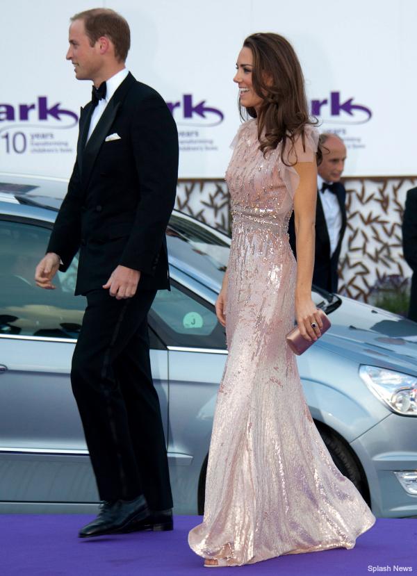 Kate Middleton at the Ark Gala wearing L.K. Bennett Agata shoes