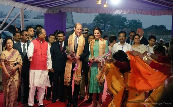 William and Kate in Assam, India