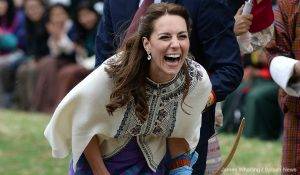 Kate wears traditional-inspired outfit for afternoon in Thimphu