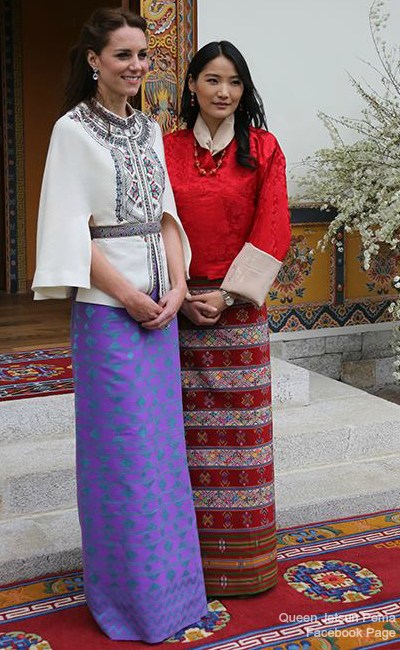 Kate-Middleton-Bhutan-Dress