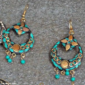 Bhutanese earrings