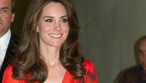 Kate wears red poppy dress from Beulah London for Thimphu reception