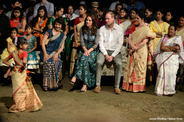 Kate changes into Anna Sui dress for Kaziranga National Park visit