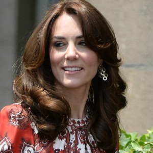 Kate Middleton wearing Cassandra Goad earrings