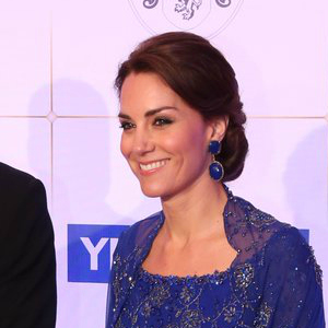 Kate Middleton's Blue Earrings (similar)