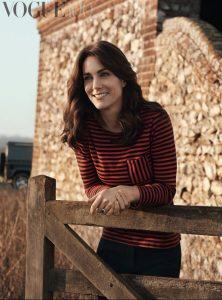 Kate Middleton Petit Bateau top Vogue